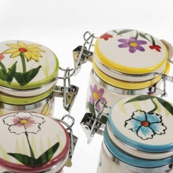 Βαζάκι γλυκού λουλούδια με...