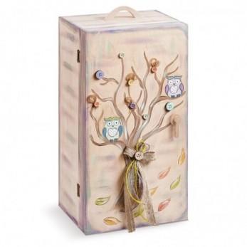 Κουτί Βαπτιστικών Κουκουβάγιες