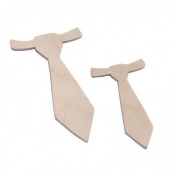 Ξύλινη Γραβάτα Φυσικό