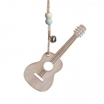 Κρεμαστό ξύλινο κιθάρα