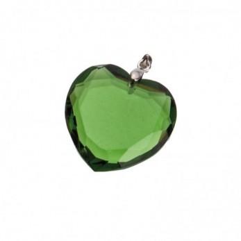 Καρδιά πράσινη κρεμαστη