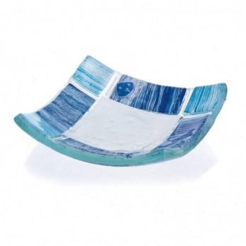 Πιατάκι μπλε - γαλάζιο