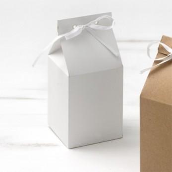 Οικολογικό milkbox λευκό