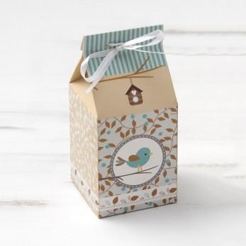 Οικολογικό milkbox πουλάκι