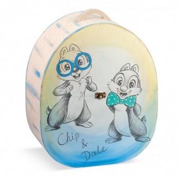 Κουτί Βάπτισης Chip & Dale