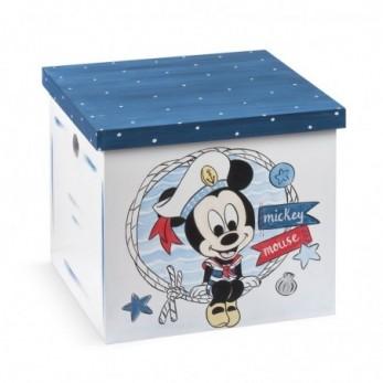 Κουτί Βάπτισης  Mickey Ναυτικό