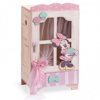 Κουτί Βάπτισης Minnie Cupcakes