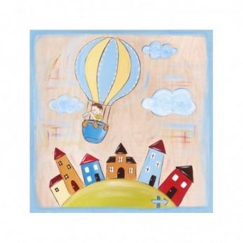 Αερόστατο ζωγραφιστή παράσταση
