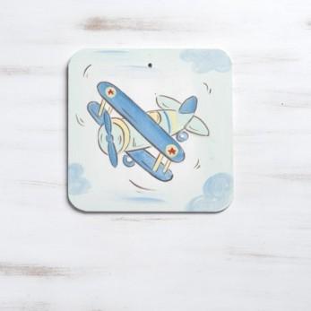 Αεροπλάνο ζωγραφιστή παράσταση