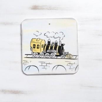 Τρένο Vintage ζωγραφιστή...