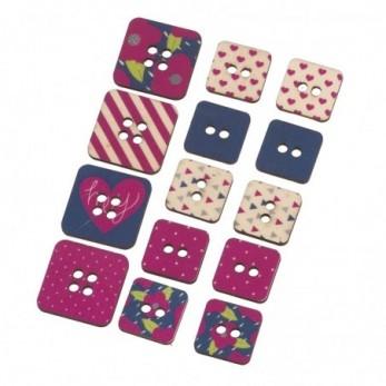 τετράγωνα κουμπιά