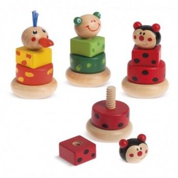 Ξύλινο παιχνίδι ζωάκια
