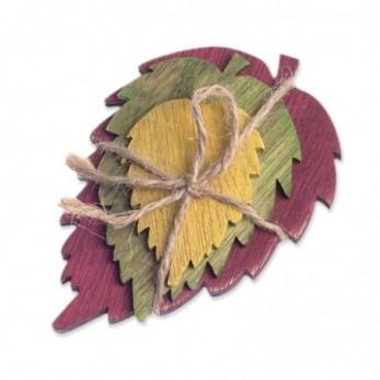 Ξύλινα φύλλα