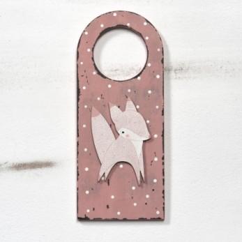 Διακοσμητικό πόρτας αλεπού