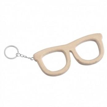 Ξύλινα μπρελόκ γυαλιά