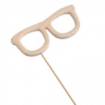Ξύλινο stick γυαλιά