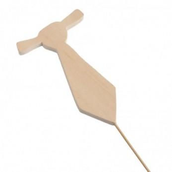 Ξύλινο stick γραβάτα