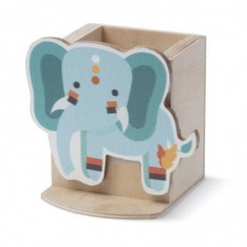 Ξύλινη μολυβοθήκη ελέφαντας...