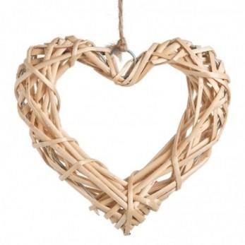 Κρεμαστή καρδιά μπαμπού