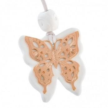 Κρεμαστό κεραμικό με πεταλούδα