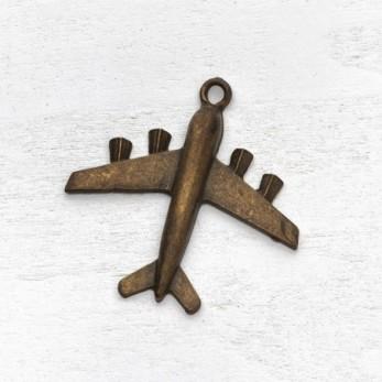 Μεταλλικό μοτίφ αεροπλάνο