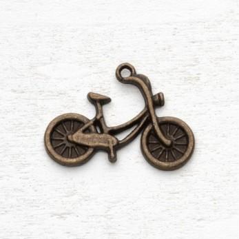Μεταλλικό μοτίφ ποδήλατο