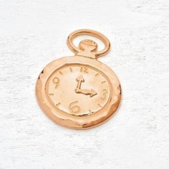 Μεταλλικό μοτίφ ρολόι