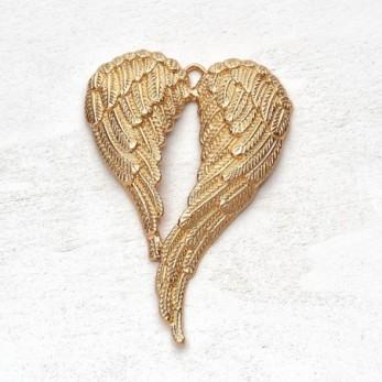 Μεταλλικό μοτίφ φτερά