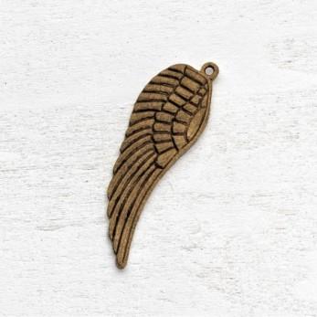 Μεταλλικό μοτίφ φτερό