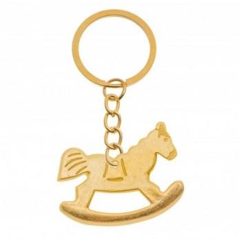 Μεταλλικό μπρελόκ άλογο