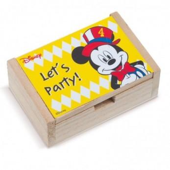 Ξύλινο κουτί  Mickey Carnival