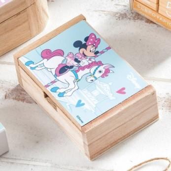 Ξύλινο κουτί Minnie Carousel