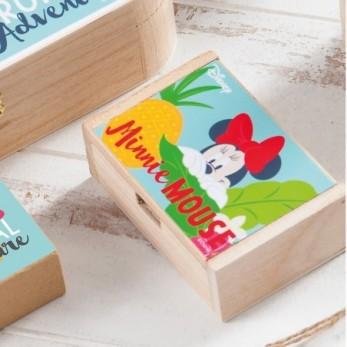 Ξύλινο κουτί Minnie Tropical