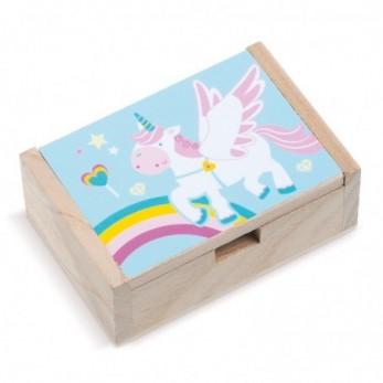 Ξύλινο κουτί Μονόκερος