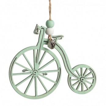 Ξύλινο κρεμαστό ποδήλατο