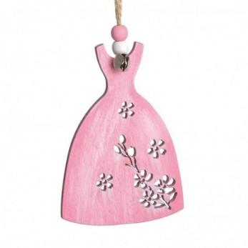 Ξύλινο κρεμαστό φόρεμα
