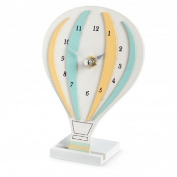 Ξύλινο ρολόι αερόστατο