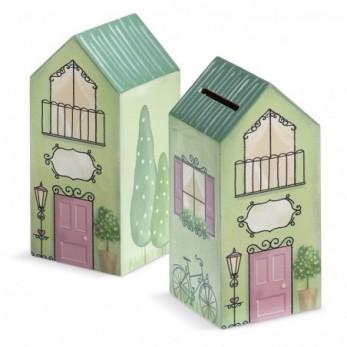 Ξύλινο σπίτι – κουμπαράς