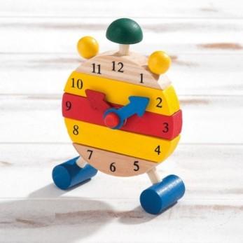 Ξύλινο συναρμολογούμενο ρολόι