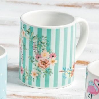 Πορσελάνινη κούπα floral