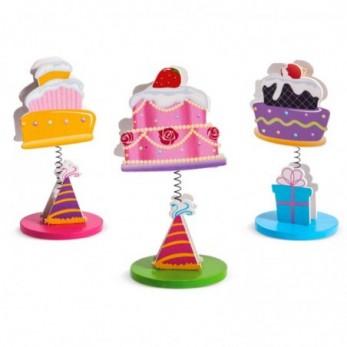 Ξύλινο Μανταλάκι Cupcakes