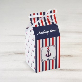 Οικολογικό milkbox ναυτικό