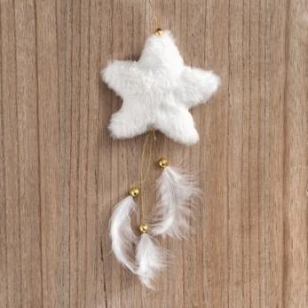 Κρεμαστό γούνινο αστέρι