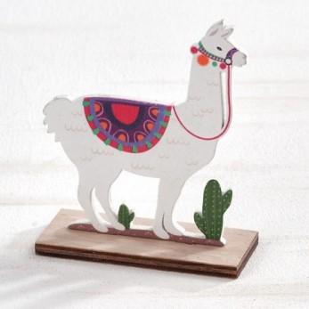 Ξύλινο διακοσμητικό Llama...