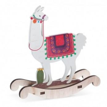 Ξύλινο κουνιστό Llama