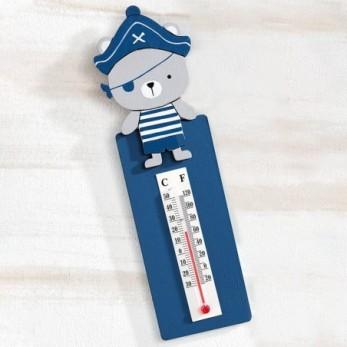 Ξύλινο θερμόμετρο τοίχου