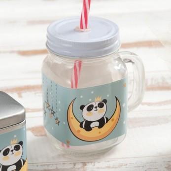 Γυάλινη κούπα Panda