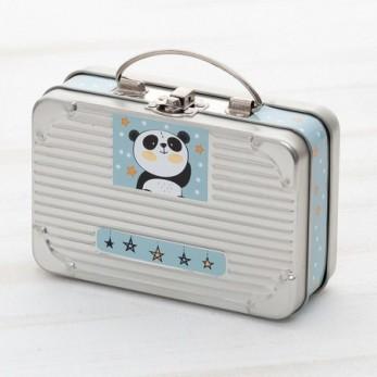 Μεταλλικό Βαλιτσάκι Panda