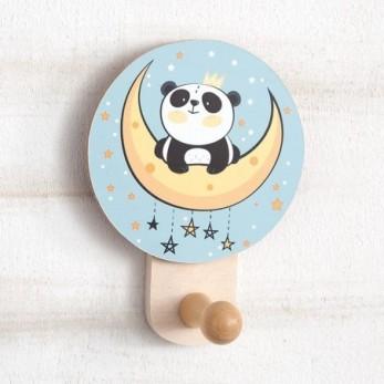 Ξύλινη Κρεμάστρα τοίχου Panda