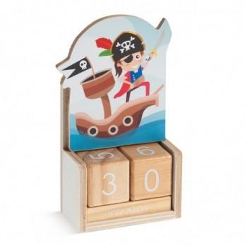 Ξύλινο ημερολόγιο Πειρατής